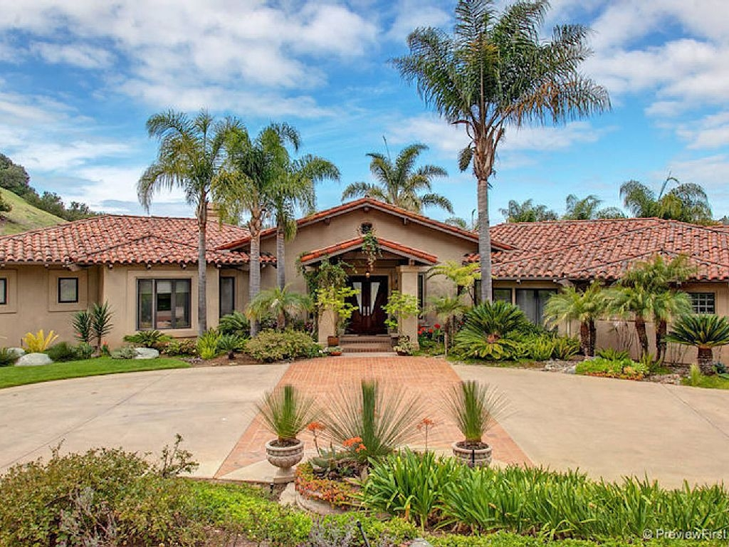 5-bedroom Resort-like Home In Exclusive San Diego - Rancho Santa Fe