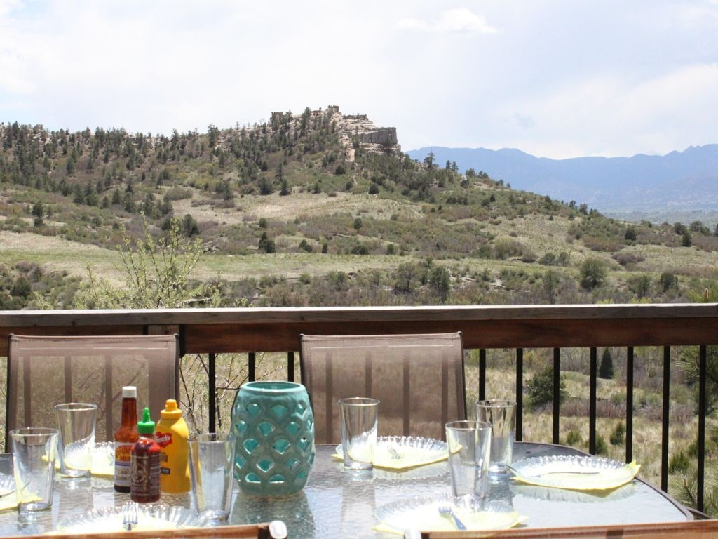 Amazing Views and Privacy minutes from major Co Springs attractions