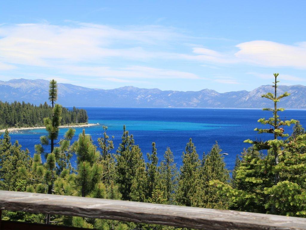 Charming Lake Tahoe Home w/ Spectacular Panoramic Views Overlooking Meeks Bay
