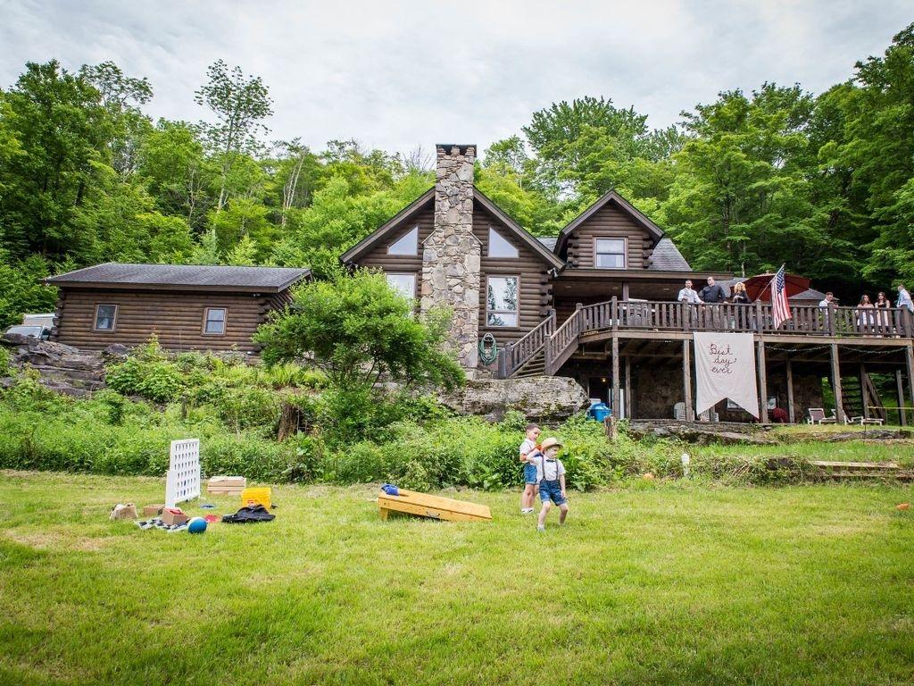 Roscoe Mountain top log home, Fishing Paradise, Lake access, Breathtaking Views