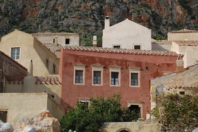 Goulas traditional house in the medieval town of Monemvasia for 10-14 persons.